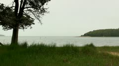 Toby's island Bennets Neck Pocasset Cape Cod Stock Footage