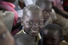 south sudan lutaya primary school and financed - stock photo