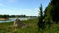 Prime lagoon real estate; 2 Stock Footage