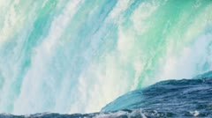 Mass Fast Flowing Water Merging - stock footage
