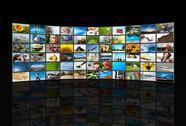 Stock Photo of screens multimedia panel
