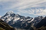 Stock Photo of mount cook, new zealand