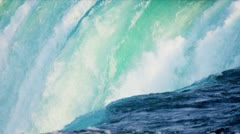 Powerful Water Producing Hydroelectric Energy - stock footage