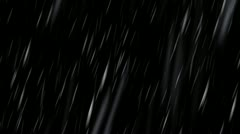 Rain - Transparent Loop (+ alpha channel) Stock Footage
