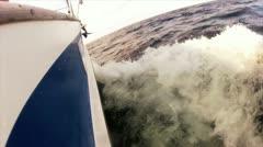 Sailingboat Stock Footage