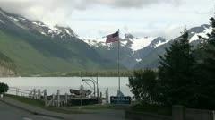Portage glacier Stock Footage