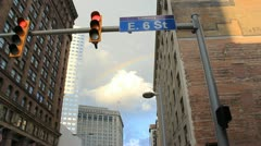Cleveland Rainbow Stock Footage
