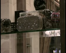 Luxury store window - PAL Stock Footage