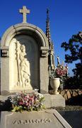 fitness cemetery southwest montjuïc barcelona 06 - stock photo