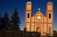 church mary magdalen antonito abbey basilica - stock photo