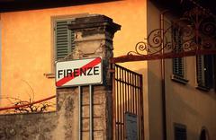 City limits villa trespiano florence tuscany sos Stock Photos