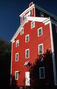 Historic mill bellevue ia actual ancient Stock Photos