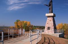 War eagle rudokas sculptor sioux city ia actual Stock Photos