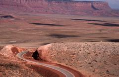 alternate highway marble canyon coconino az view - stock photo