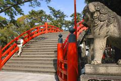 fitness japan honshu kansai osaka sumiyoshi ward - stock photo