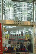 shopping japan honshu kansai osaka kita ward - stock photo