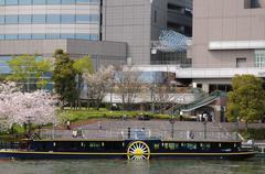 Stock Photo of japan honshu kansai osaka miyakojima ward okawa