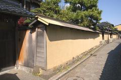 Japan honshu ishikawa prefecture kanazawa depict Stock Photos