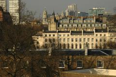 Stock Photo of england london marylebone albany street terrace