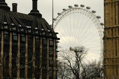 england london british airways eye millenium - stock photo