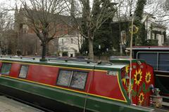 england london maida vale regents canal road - stock photo