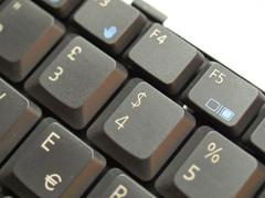 Stock Photo of computer keyboard
