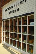 Iowa decatur leon museum component depict design Stock Photos