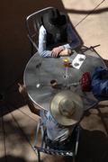 shopping arizona maricopa scottsdale pedregal - stock photo