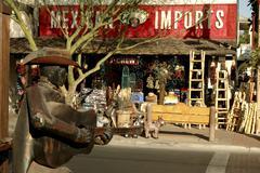 Art Arizona Maricopan scottsdale keskustan vanha Kuvituskuvat