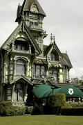 California humboldt eureka carson mansion club Stock Photos
