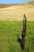Stock Photo of water washington whitman palouse country farming