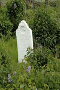 washington walla pioneer cemetery pioneers - stock photo