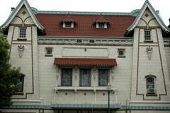 Washington walla downtown liberty theater style Stock Photos