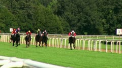Horse-Racing 20120909 150621 Stock Footage