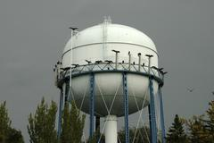 family water north dakota bismarck tower turkey - stock photo
