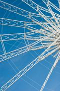 Ferris wheel abstraction Stock Photos