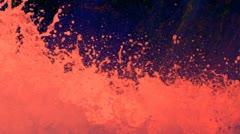 Erupting Volcanic Lava Stock Footage