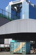 Business japan honshu osaka kita ward umeda city Stock Photos