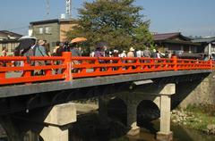 fitness japan honshu gifu prefecture takayama - stock photo