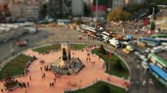 Taksim square Stock Footage