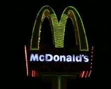 McDonald's sign V3 - PAL Stock Footage