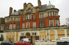 House home england london lisson grove crocker Stock Photos