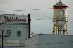 Design fitness washington tacoma heidelberg beer Stock Photos