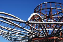 washington seattle georgetown oxbow park hat gas - stock photo
