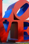 Love art arizona scottsdale mall civic center Stock Photos
