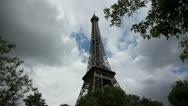 Eiffel Tower 1 Stock Footage