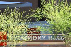 business music arizona phoenix downtown symphony - stock photo