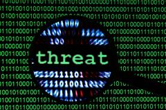 web threat - stock photo