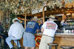 Business arizona scottsdale reata pass flat bar Stock Photos