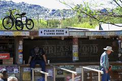 Liike Arizona scottsdale Reata kulkea lattakisko Kuvituskuvat